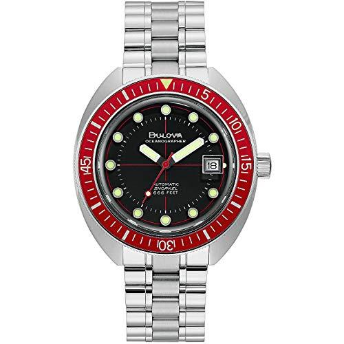 orologio solo tempo uomo Bulova Oceanographer casual cod. 96B343