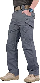 CARWORNIC Gear Men's Assault Tactical Pants Lightweight Cotton Outdoor Military Combat Cargo Trousers