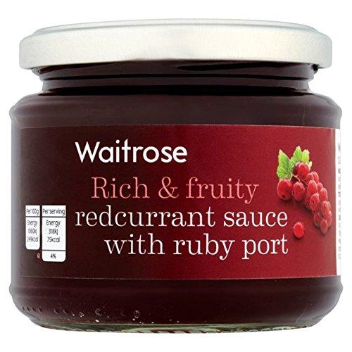 Johannisbeer-Sauce mit Ruby Port Waitrose 215g