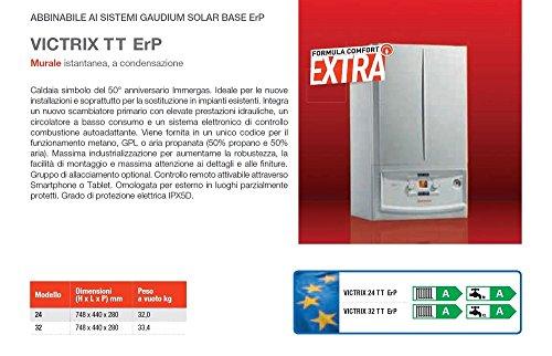 Immergas caldaia a condensazione Victrix 24 TT ERP, a Metano, Bianco