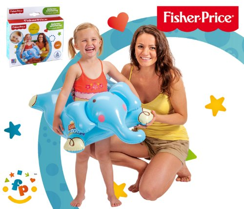 Happy People 16204 - Fisher Price, Schwimmring, Elefant, 50 cm