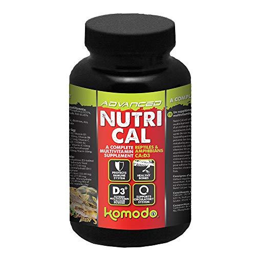 Komodo Nutri-Cal 150 g, Multivitamin Supplement for Reptiles & Amphibians