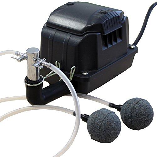 Kerry Electronics KEA0600 Belüfter/Luftpumpe/Membranpumpe für Aquarium und Teich 10l/min 600l/h 10W