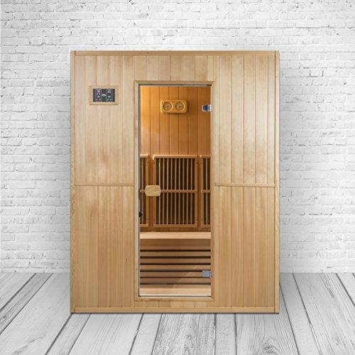Trade-Line-Partner Combinación Modelo de sauna & cabina de infrarrojos en...