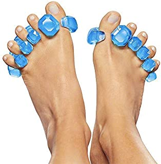 Sponsored Ad - YogaToes GEMS: Gel Toe Stretcher & Toe Separator - America's Choice for Fighting Bunions, Hammer Toes, More!