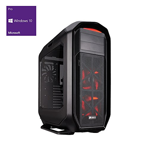 one Silent High-End Gaming-PC Intel i7-6900K 8x 3.70 GHz | 16 GB DDR4 2133 MHz RAM | 2000 GB HDD | MSI X99A SLI Plus | BLU-RAY Brenner | 2 GB AMD Radeon RX 550 | 7.1 Sound | GigaBit-LAN | USB 3.0 | Windows 10 Pro 64-Bit
