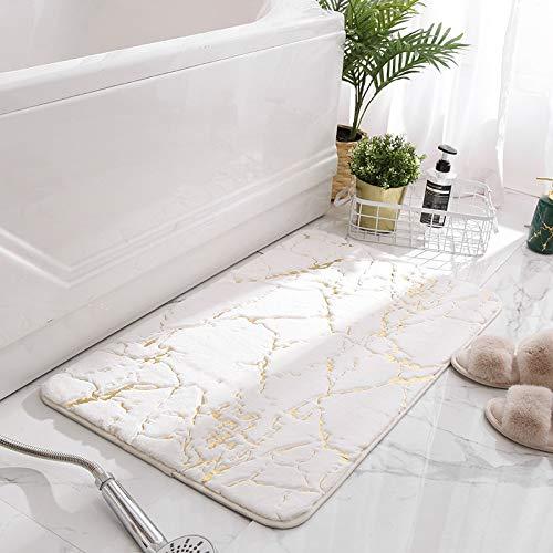 JINGMIAO Fluffy - Alfombra rectangular antideslizante para el suelo del hogar, para...