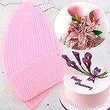 YIYAO Tulip -Silikon -Form -Blumen -Blumenblatt -Blatt -Kuchen...