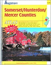 Somerset/Hunterdon/Mercer Counties, New Jersey (Hagstrom Somerset/Hunterdon/Mercer County Atlas)