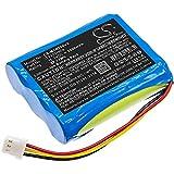 TECHTEK Batterie remplace 12J001609 Compatible avec [MONEUAL] Everybot RS500, Everybot RS700