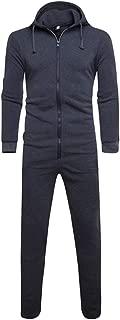 Fxaelian Unisex Women Men Jumpsuit Onesie Pajamas Union Suit Overall