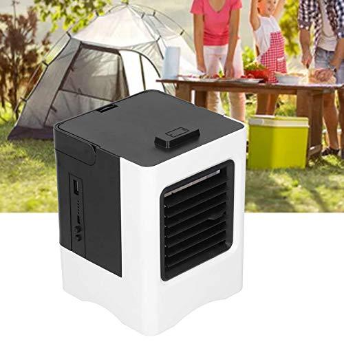 Snufeve6 Ventilador de Aire Acondicionado, Aire Acondicionado portátil para Espacios personales con Rango de soplado de 40-60 cm para Viajes, oficinas, Habitaciones en casa
