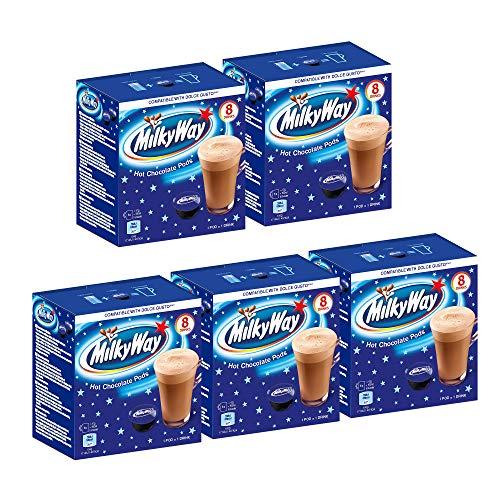 Milky Way - Trinkschokolade (Dolce Gusto® compatible) - 5x 8 Kapseln
