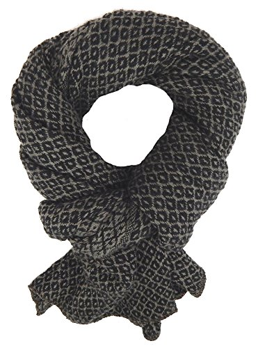 Ella Jonte Écharpes foulard d'homme hiver élégant et tendance de la dernière collection by Casual-style marron taupe