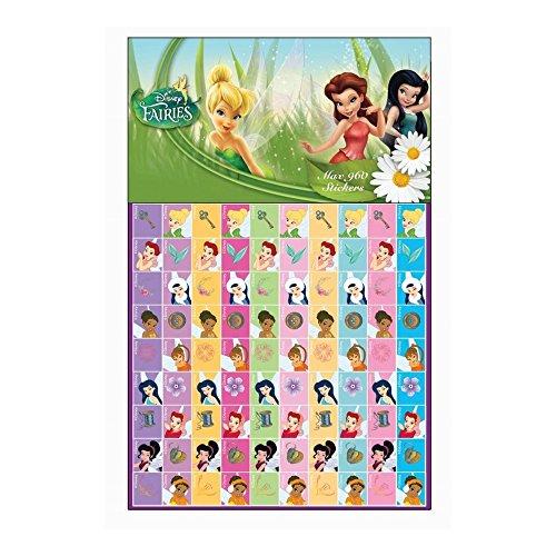 GUIZMAX 960 Stickers Fée Clochette Disney Autocollant Enfant Scrapbooking Fairies