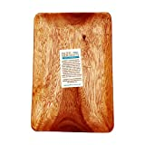 Pacific Merchants Acaciaware 10.5-by 7.25-by .75-Inch Acacia Wood Rectangle Serving Tray, 1 EA