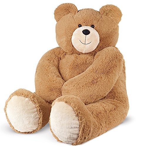Vermont Teddy Bear Get Well Gift Teddy Bear – Get Well Stuffed Animals, Jumbo, 48 inch