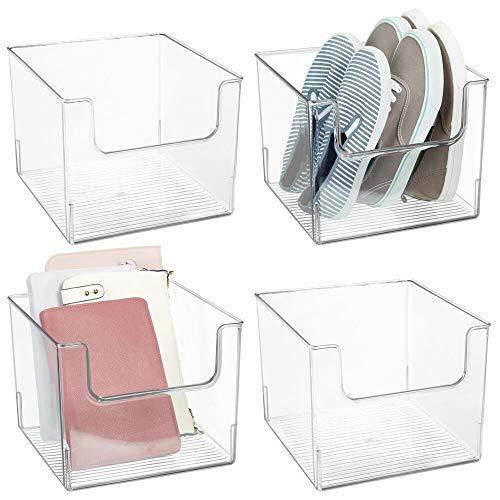 MDesign Juego de 4 cajas de almacenaje