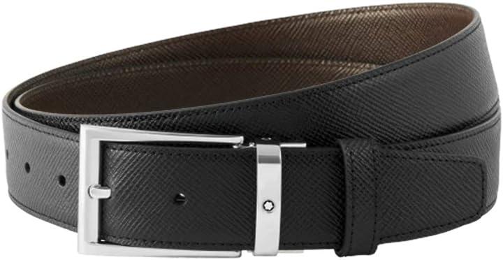 Cintura uomo  montblanc classic B08S58GY7Q