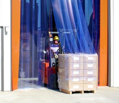 Baltimore Max 40% OFF Mall Clearway Door High Wind Strip Doors- Hwsd-1314 X 13 W Ft Wide