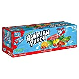 Hawaiian Punch Fruit Juicy Red, 12 oz Can (Pack of 24)