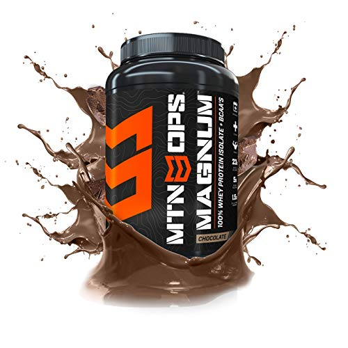 MTN OPS Magnum 100% Whey Isolate Protein Powder - 32 Servings,...