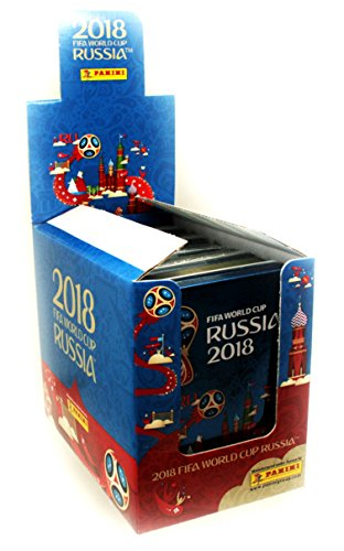 CAGO Panini WM Russia 2018 - Sticker - 1 Display (5 Tin Dosen)