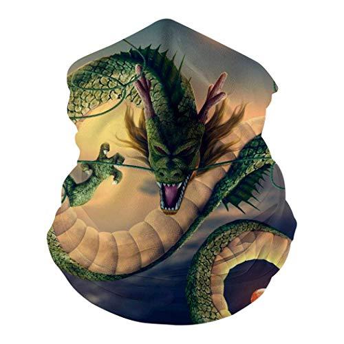 YYTT8 Gesichtsschutz Mundschutz Chinese Dragon Balaclava Bandana Stirnbänder