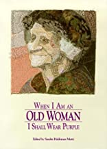old woman purple poem