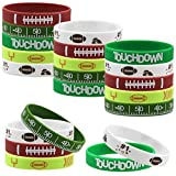 35 Silicone Football Motivational Bracelets for Kids Football Gift Party Supply
