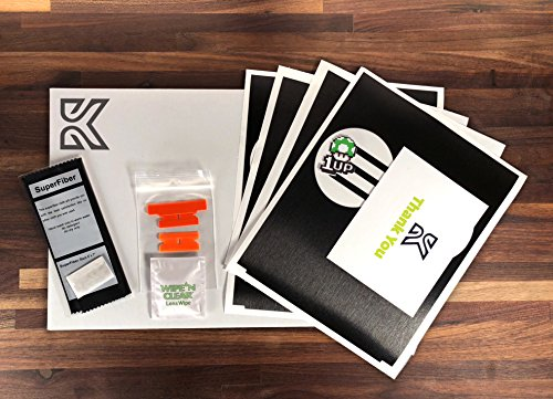 Kenriko Tesla Model 3 Black Brushed Metal Console Wrap Kit
