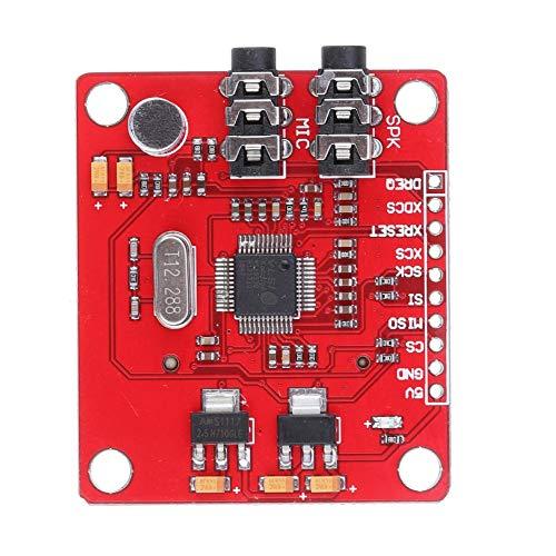 Un known VS1053 VS1053B MP3 Module Development Board R3 Board with SD Card Slot Ogg Real-time Recording for Arduino Accessory Removable Replacement