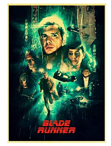 H/P Movie Blade Runner 2049 Retro Poster Wall Stickers Living Room Home Decoration Painting Frameless 50X70Cm W2255