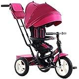 TANKKWEQ. Faltbar Die Kinderwagen-Kinder-Dreiräder, Vier Baby-Dreirad, einstellbare Rücksitze,...