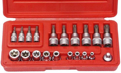 Famex Schraubersatz für Torx-Schrauben 20 tlg., 10520