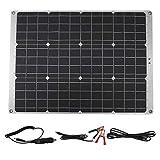 ShiSyan 70W 12V Doppio 5V del USB del Pannello Solare Portatile di Ricarica Consiglio efficiente di Carica della Batteria for RV crogiolo di Automobile