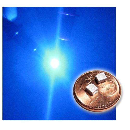 world-trading-net 50 SMD LED PLCC-2 3528 BLAU Typ WTN-PLCC2-500b