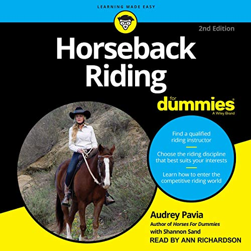 Horseback Riding for Dummies cover art