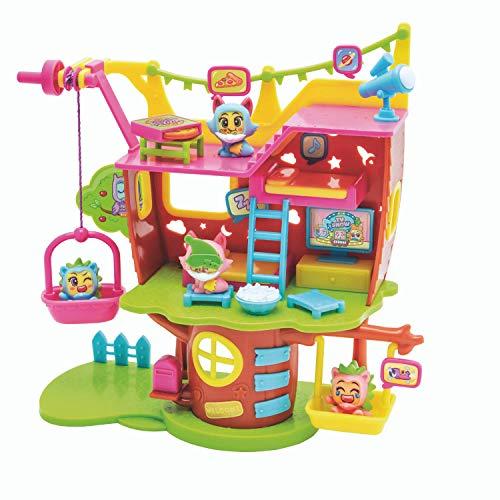 MOJIPOPS - Treehouse con 2 exclusivas figuras MojiPops y variedad de accesorios , color/modelo surtido