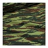 Stoff am Stück Stoff Polyester Flecktarn Tarndruck
