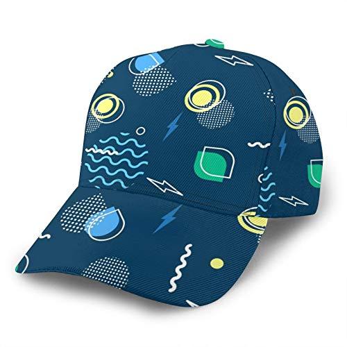 Gorras de béisbol,Creatividad 3D Impresión De Dibujos Animados Planeta Sombreros De Algodón, Sombrero Casual Unisex Ajustable, Ligero Transpirable Cómodo Verano Vacaciones Playa Tenis Al Aire L