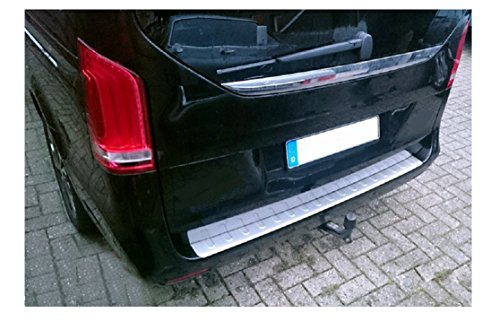 Protection de bordure de chargement avec rebord en acier inoxydable