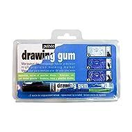PEBEO Drawing Gum Marker Blistered Nib, 2.20 x 12.00 x 17.40 cm, White