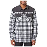 5.11 Tactical Men's Endeavor Flannel Shirt, Style 72468, Charcoal Plaid, X-Small