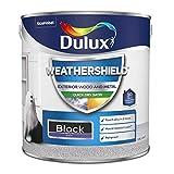 Dulux Weather Shield Quick Dry Satin Paint, 2.5 L - Black