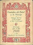 CONTRALUZ DEL PAÑAL Y LA MORTAJA O TOBOGAN DEL SOL Y DE LA LUNA Y OTRAS LUCIERNAGAS. ALMANAQUE PARA EL AÑO 1959.