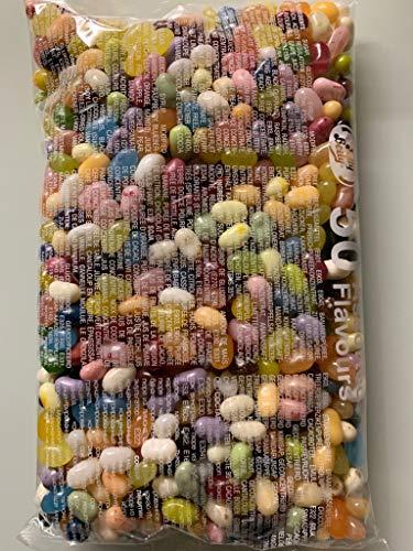 Regalo colorido con Bean Boozled de Jelly Belly Beans, 50 variedades en paquete de 1 kg y un paquete de prueba