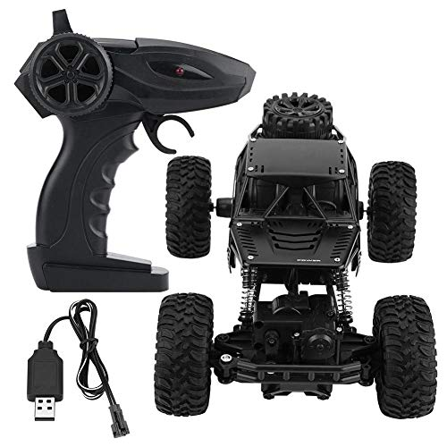 Zouminy LH-008S 1:16 Tracción en Las Cuatro Ruedas para RC Crawler Car Control Remoto Vehículo de Juguete(Negro)