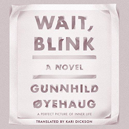 Wait, Blink audiobook cover art