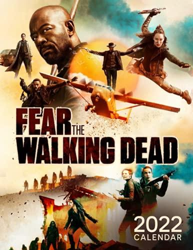 Fear the Walking Dead 2022 calendar: TV Series & Movie Calendar – 12 months – 8.5 x 11 inch High Quality Images